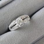 キラキラ!1ctアップのダイヤモンドリング!